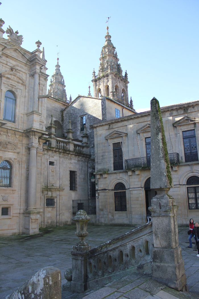 catedral santiago paisaje