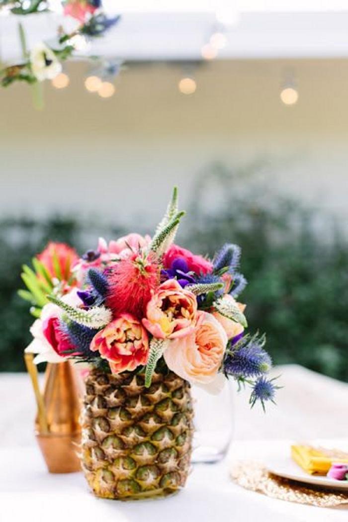 piña florero