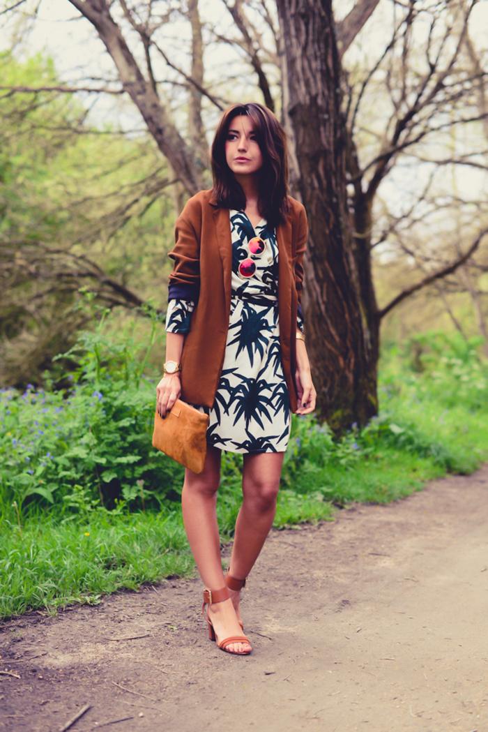 lovely pepa vestido palmeras