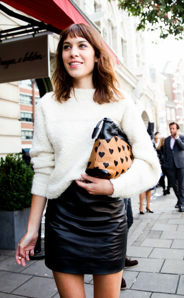 LFW-London_Fashion_Week_Spring_Summer_2014-Street_Style-Say_Cheese-Collage_Vintage-Alexa_Chung-Michael_Kane-3