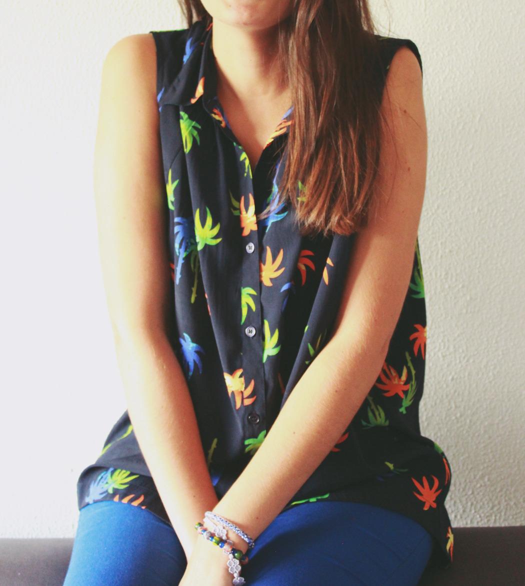 3 blusa asos palmeras
