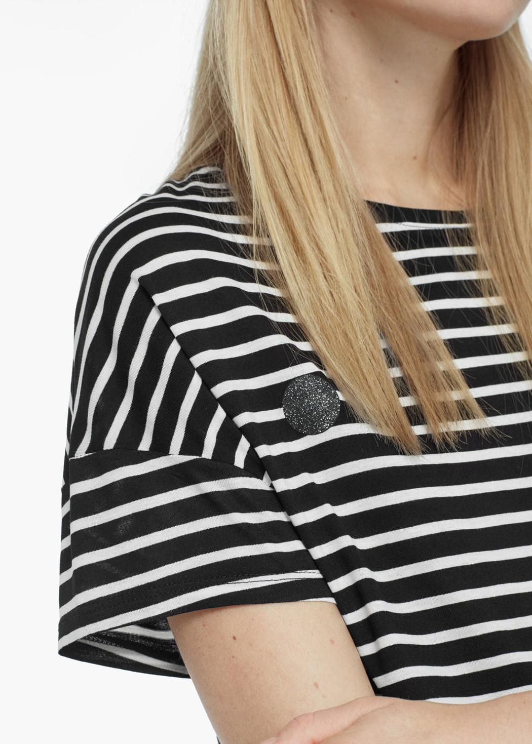 camiseta mango diseño rayas managa raglán
